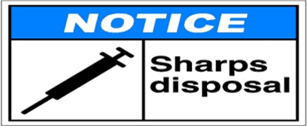 Sharps Disposal Logo